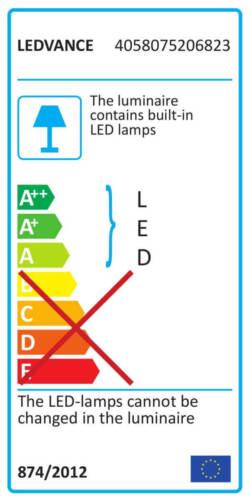 Ledvance Endura Flood IP65 Dunkelgrau LED Fluterleuchten für Außenmit 4000 K