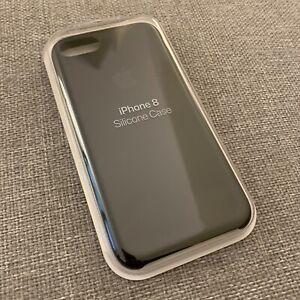 """Apple – Coque en silicone pour iPhone 7 / 8 – """"Silicone Case"""" – Couleur noire"""