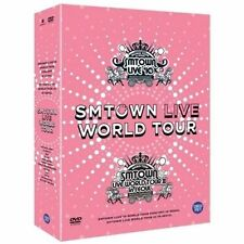 [SMTOWN Live World Tour In Seoul DVD] 5 Discs + Special Photobook Sealed K-POP