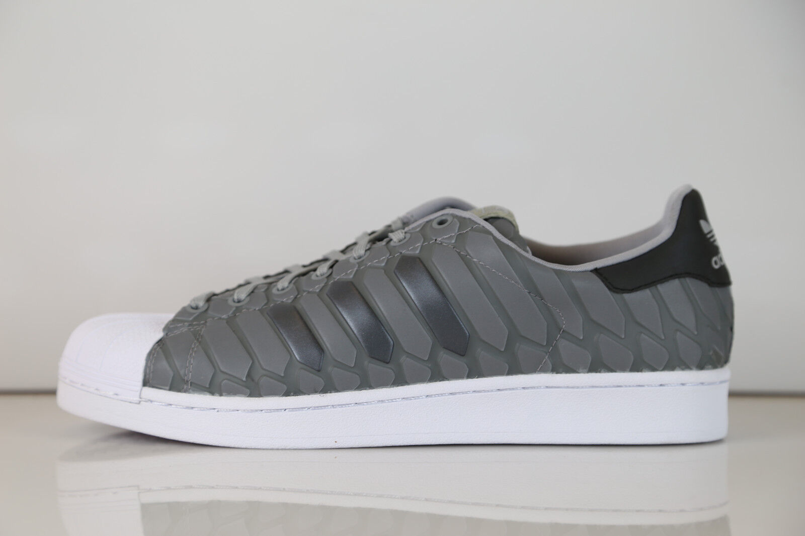 Adidas Superstar Xeno Light Onyx Grey 3M Reflective Snakeskin D69367 8-13 stan 1 Scarpe classiche da uomo