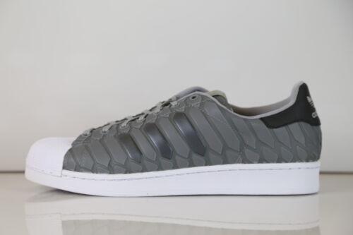 m D69367 Superstar 13 Xeno Stan serpiente 8 Piel 3 reflectante Adidas Gris de 1 Onyx Light YPqwB