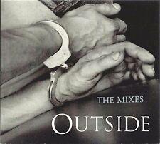 GEORGE MICHAEL - OUTSIDE (THE MIXES) 1998 UK CD SINGLE CARDBOARD DIGIPAK EPIC
