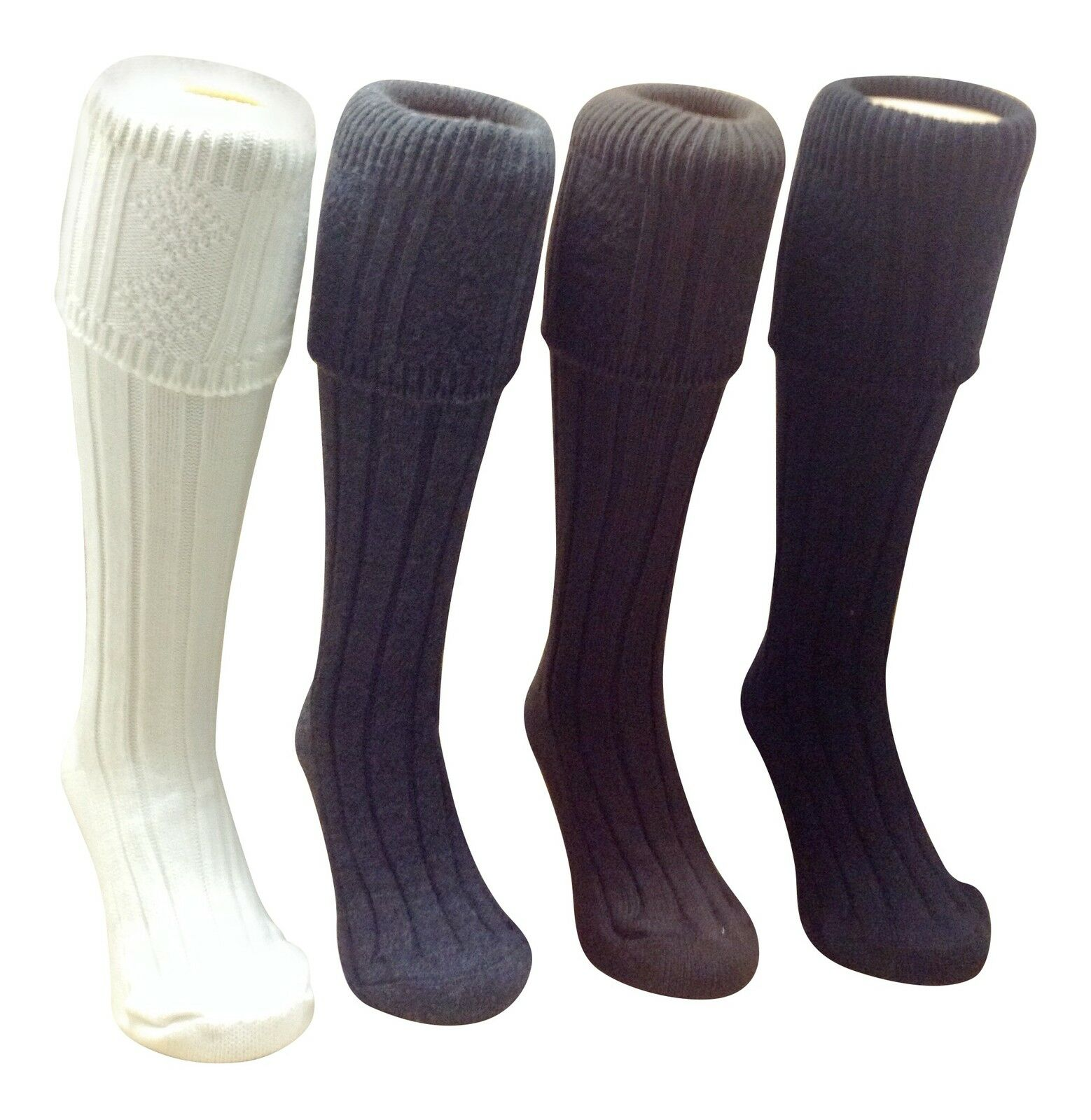 Kilt Hose Socks Chunky Knit Thick Comfortable great colours carefully made in UK