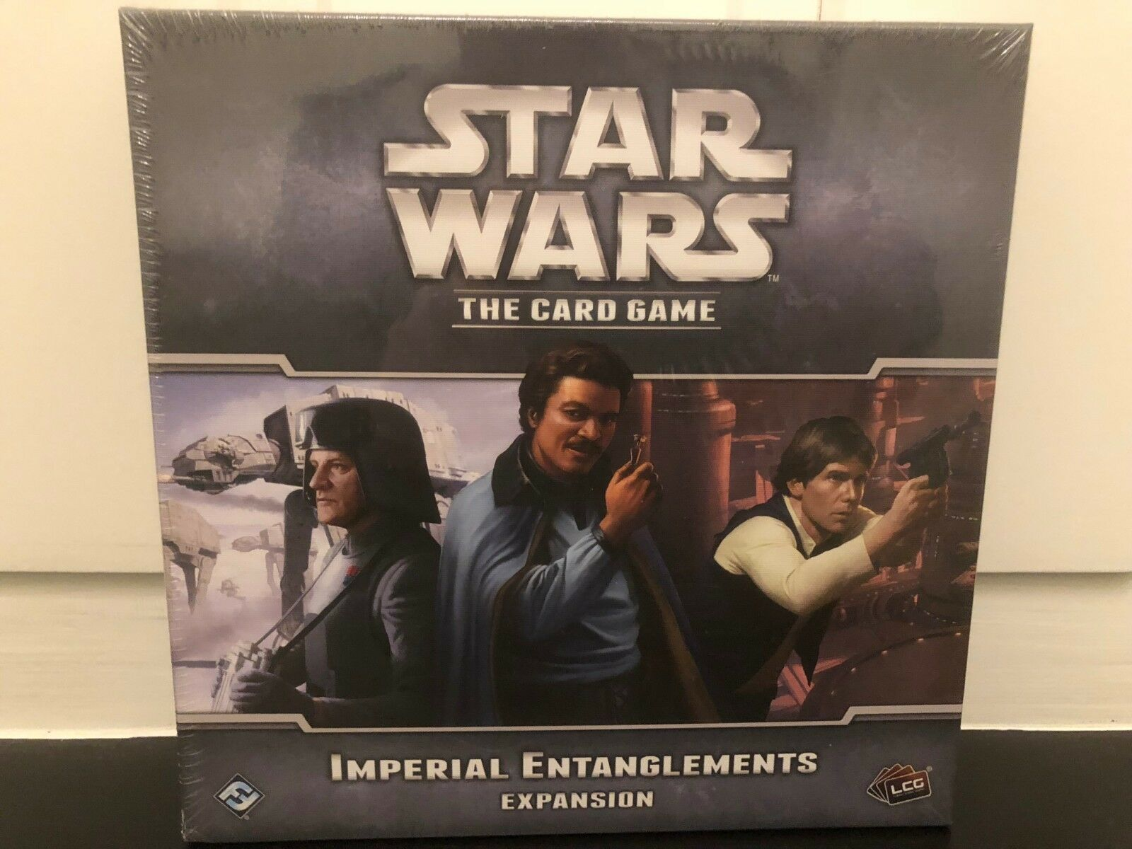 Star Wars LCG - Imperial Entanglements Expansion NEW   SEALED