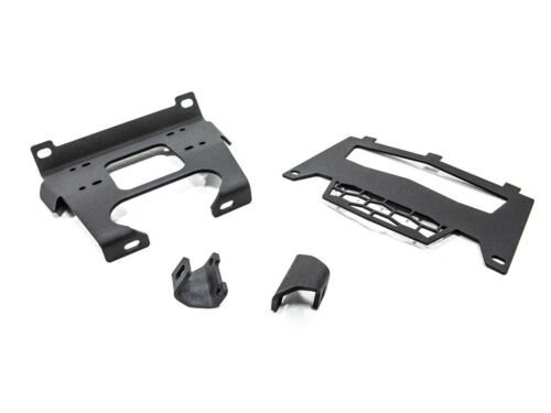 2015+ 4 900 SuperATV Winch Mounting Plate for Polaris RZR 900 S 900