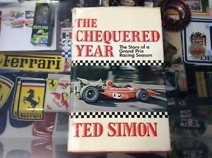 THE-CHEQUERED-YEAR-HARD-COVER-BOOK-BY-TED-SIMON-FIRST-EDITION-1971