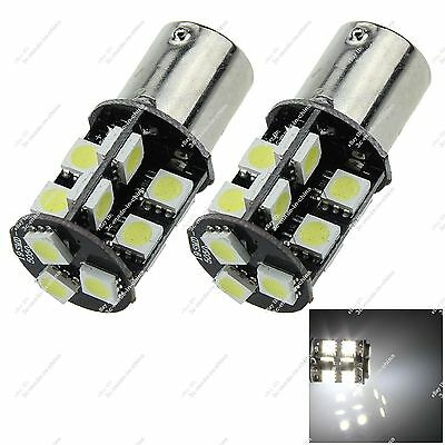 2X 1156 BA15S 19 SMD 5050 LED Turn Signal Light Lamp Canbus Error Free Car ZD009