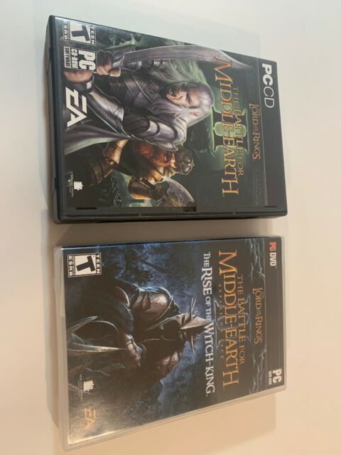 Lord of the Rings Battle for Middle Earth 2 & Rise of the Witch King PC Key CIB
