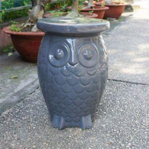 Tremendous Details About Catalina Wild Owl Ceramic Garden Stool Inzonedesignstudio Interior Chair Design Inzonedesignstudiocom