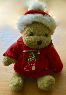 FleißIg Alte Weihnachtsteddybär Teddy Teddybär, Rote Mütze