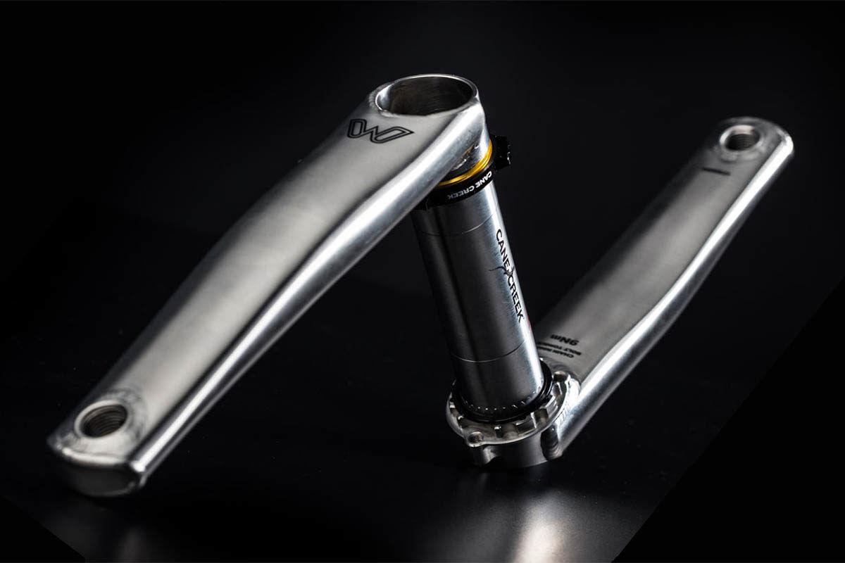 New CANE CREEK eeWings 172.5mm Road Gravel Cyclocross Titanium Crankset