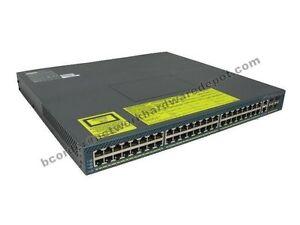Cisco-WS-C4948-S-4948-48-Port-10-100-1000-Switch-no-power-1-Year-Warranty