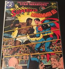 DC Comics Superman Vs. Muhammad Ali Treasury Edition Signed By Neal Adams NM