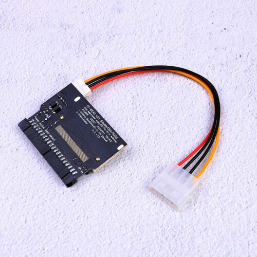 Dual compact flash cf I//II to 3.5 IDE hdd adapter 3 led  cb