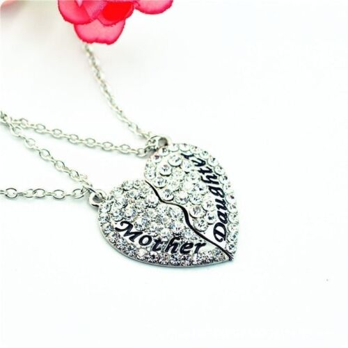Fashionable Jewelry Mother and Daughter Necklace Best Friend Pendant Necklace