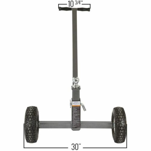 """Apex Boat Trailer Dolly with 1-7//8/"""" Hitch Ball 3500 lb Gross Towing Weight"""