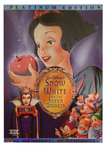 1 of 1 - Snow White and the Seven Dwarfs (DVD, 2001, 2-Disc Set, Special Edition)