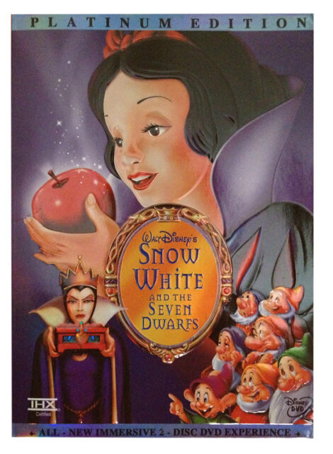 Snow White And The Seven Dwarfs Dvd 2001 2 Disc Set Special Edition For Sale Online Ebay