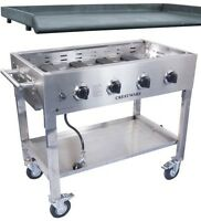 Crestware PCG-Base & PCG-GT  Portable Commercial Griddle Plancha