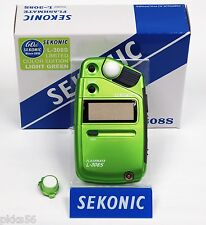Sekonic 308S FLASHMATE LIGHT METER (SPECIAL LIMITED GREEN COLOR EDITION)