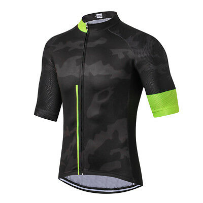 Men/'s Cycling Jersey Clothing Bicycle Sportswear Short Sleeve Bike Shirt Top F58
