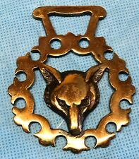 Brass Harness Decoration Fox Head #15