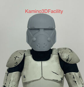 Custom Star Wars 1//6 Scale Bad Batch Clone Trooper Crosshair Helmet For 12in Fig