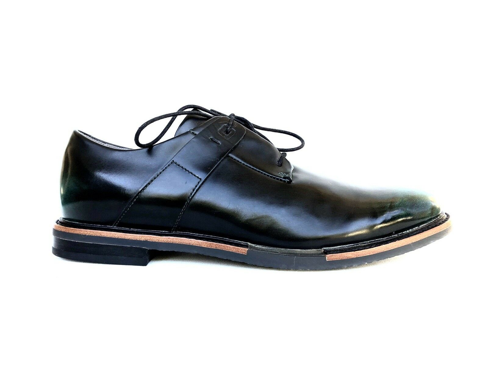 TSUBO Ombre Black Green Casual Oxford Lace Up Men shoes Sz 8M
