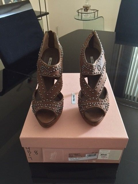 NEW IN THE BOX MIU MIU SIZE 38