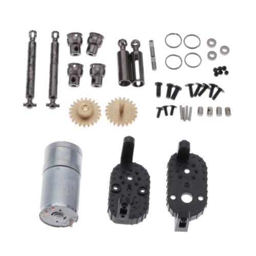 Verteilergetriebesatz mit Motoren für WPL C14 C24 C34 4WD 6WD RC Cars aus