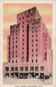 Image Is Loading Postcard Hotel Barnum Bridgeport Ct