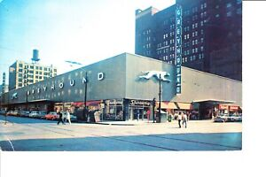Details about Chicago, IL Greyhound Bus Terminal 1950s