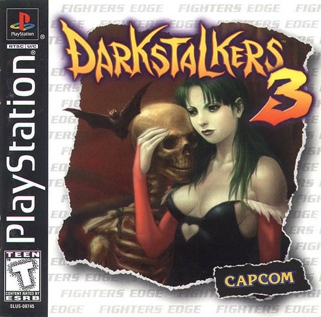 Darkstalkers 3 PS1 Great Condition Fast Shipping