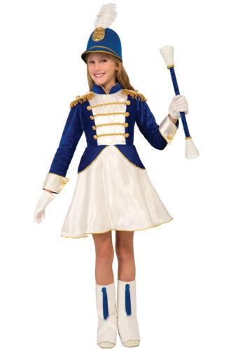 L Drum Majorette Baton Girl Child Costume