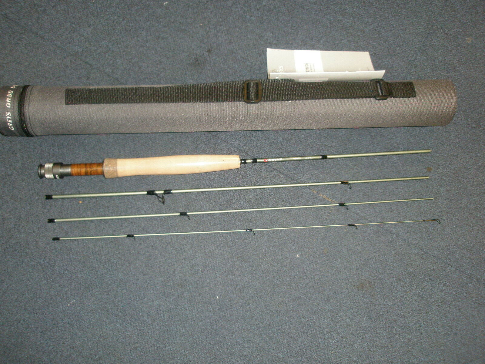 grigios GR50 4pc FLY ROD 6' 6   4 Fishing Tackle