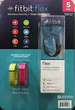 Fitbit Flex + 2 Bands Activity Tracker SMALL  NEW