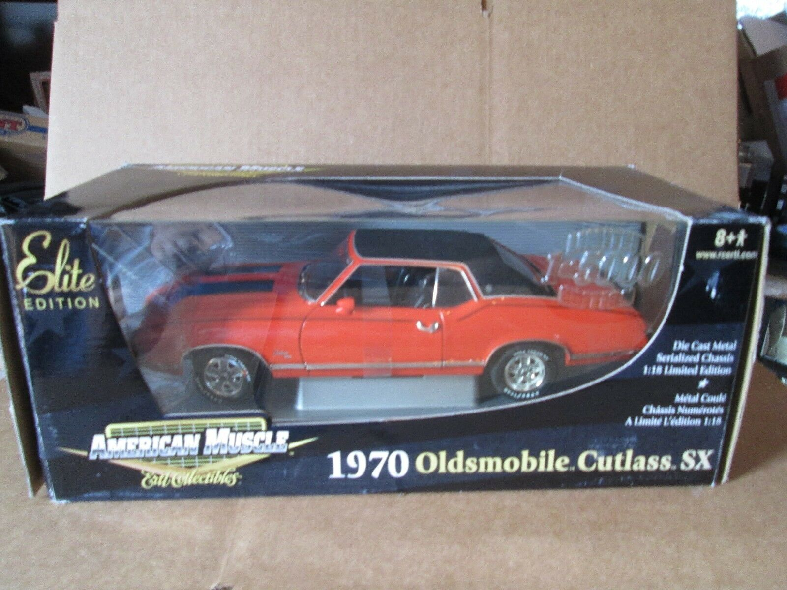 J1970 Oldsmobile Cutlass SX Orange American Muscle Elite ED.1 18 LTD ED ERTL