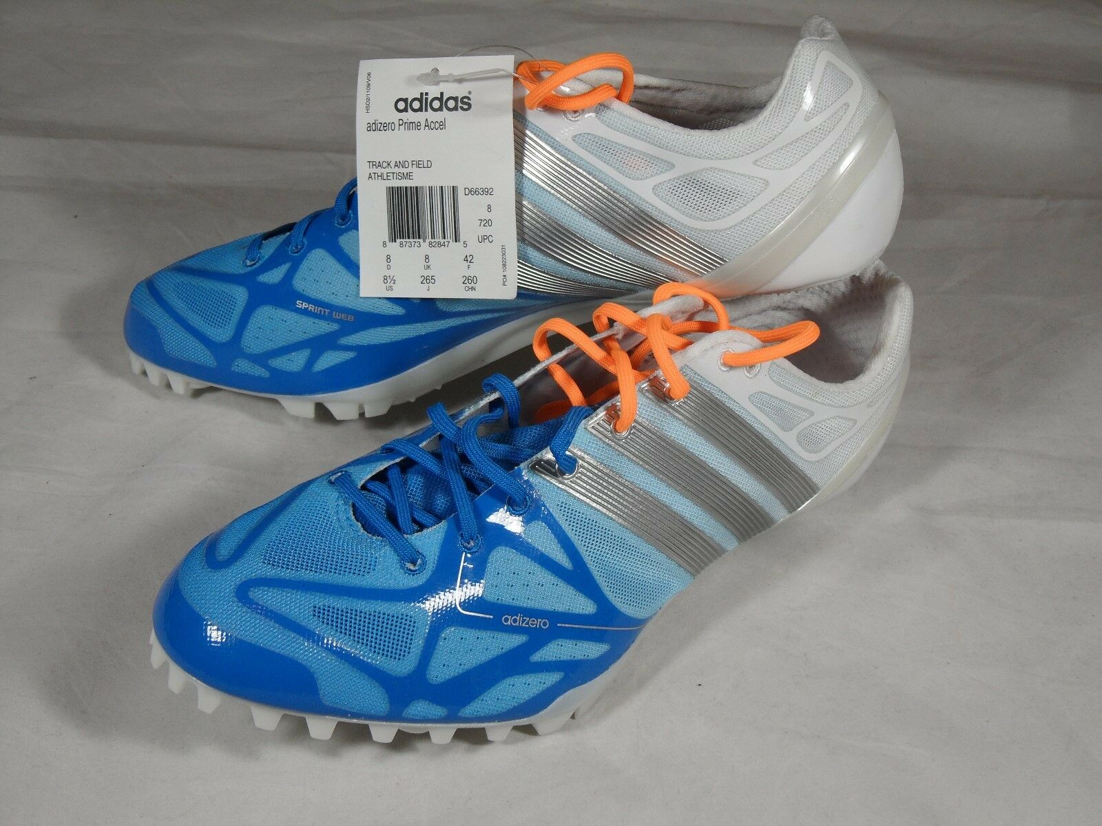 New Adidas Adizero Prime Accel Cadence 2 SP Avanti 2 LJ 2 MD Track Field Spikes