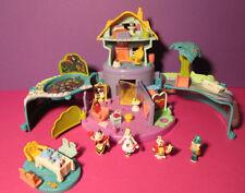 Polly Pocket Mini Disney ♥ Alice in Wonderland ♥ 4 figuras ♥ 1996 ♥ raramente ♥