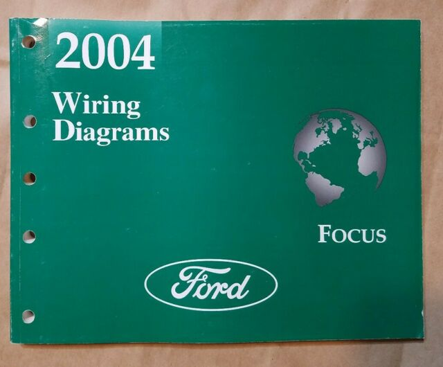 2004 Ford Focus Electrical Wiring Diagrams Service Manual