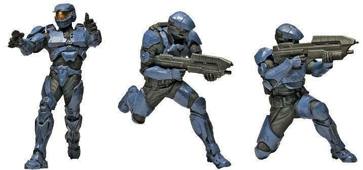 Halo -  Squad 2 - UNSC Troops 3-PZ - Mini cifra  sport caldi