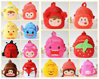Kids Boys Girls Baby Animal Backpack / Zoo School Bag Lunch Box Back Pack BB005