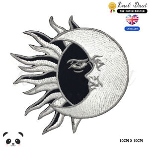 Yin-Yang-Sun-And-Moon-Embroidered-Iron-On-Sew-On-Patch-Badge