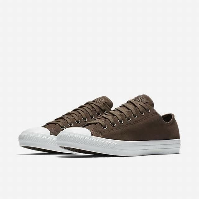 SALE CONVERSE CHUCK SUEDE TAYLOR ALL STAR LOW SUEDE CHUCK DARK CHOCOLATE WEISS 157598C 210 1a3647