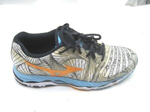 Mizuno-size-9-5M-Wave-Paradox-beige-black-womens-ladies-running-sneakers-shoes