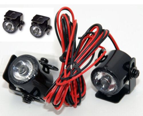 223-330 LED Standlicht Tagfahrlicht  24,7 mm Ø mit Universalhalter Paar E-gepr