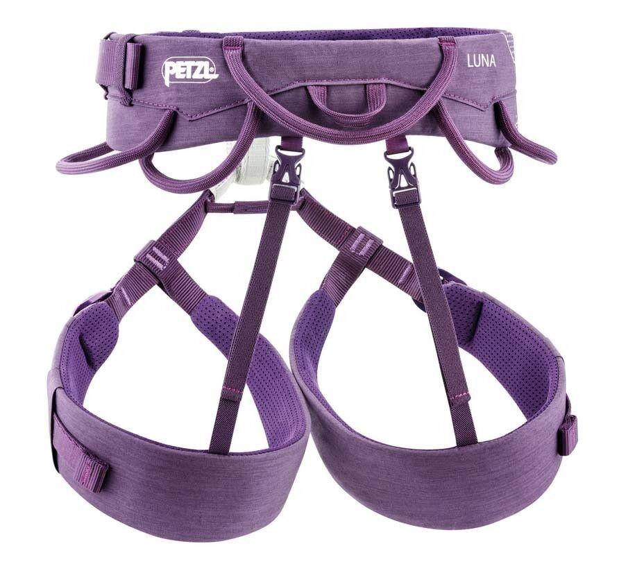 Petzl Luna Womens Climbing Harness - Purple