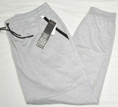 Southpole Jogger Pants Men/'s 4XB 4X 4XL Zip Pocket Fleece Sweatpants Grey P141