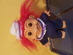 Collectionneurs Vintage Troll Doll. Sailor-afficher Le Titre D'origine