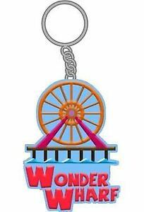"Key Chain Bob/'s Burgers Wonder Wharf 2/"" New kc-bob-fwhl"